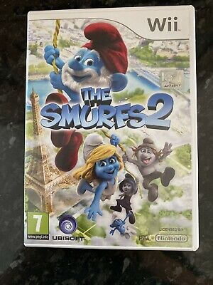 The Smurfs 2 Wii Game Kids Wii Game • 1.99£
