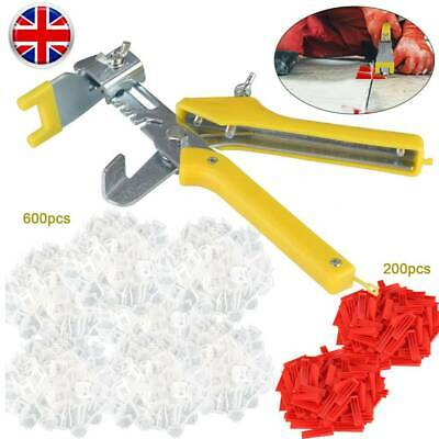 801Pcs/Set Floor Wall Tile Leveling Spacer System Tool Wedges Pliers Tiling Kit • 15.99£