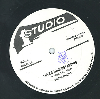 LOVE AND UNDERSTANDING.  Sugar Minott. STUDIO ONE 12in 1979. • 27£