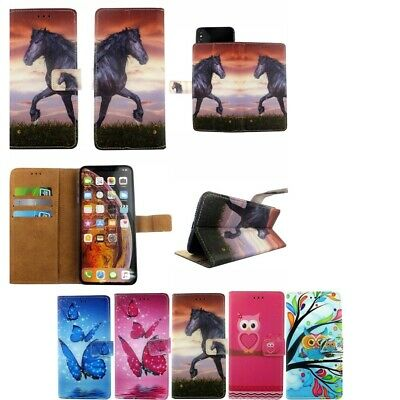 PU Leather Mobile Phone Cover Case Wallet Case For All Huawei Models • 4.99£