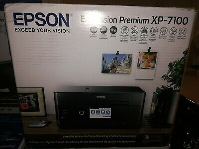 View Details Brand New Epson Expression Premium XP-7100 All-in-one Printer • 184.95$