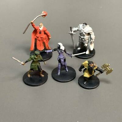 AU11.46 • Buy 5x Dungeons & Dragons D&D Board Game Role Playing Miniatures Figure Painted
