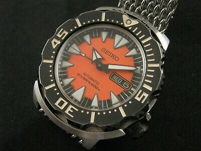$ CDN384.50 • Buy SEIKO SRP315J1 MONSTER 2nd Gen Water Proof Tested All Original Except Strap