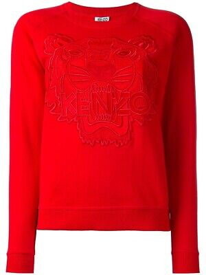 AU260 • Buy Kenzo Jumper Red Tiger Size Small RRP $400 SOLD OUT