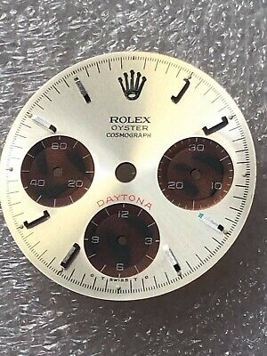 $ CDN422.86 • Buy Dial Paul Newman Whit And Brown For Rolex Daytona Ref 6263-6265 ( Refinished )