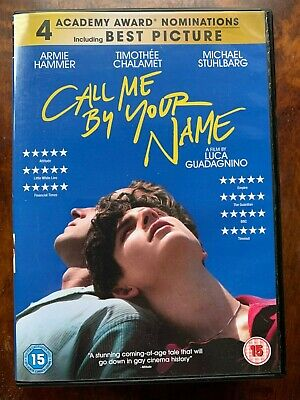 AU12.68 • Buy Call Me By Your Name DVD 2017 Italian Gay Interest Drama Movie W/ Armie Hammer