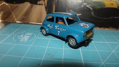 SCALEXTRIC MINI 1275GT Car With New Rear Tyres ! • 8.50£