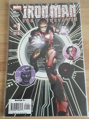 Marvel Comics Limited Series Iron Man #1 2005 • 2.10£