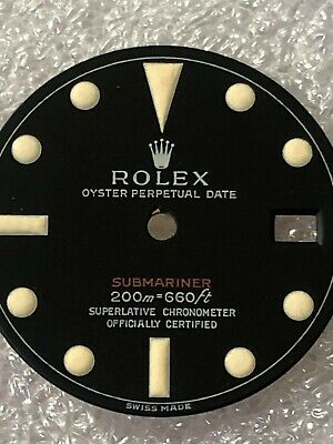 $ CDN236.84 • Buy Dial Matte For Rolex Submariner 1680-1970s ( Refinished )