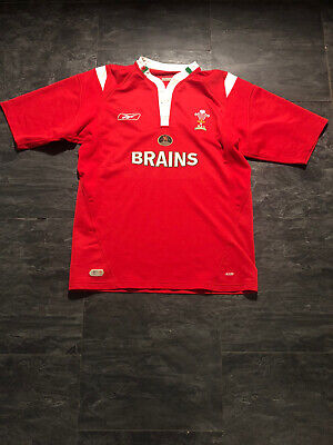 Rare Wales Home Rugby Shirt 2005 L • 9.99£