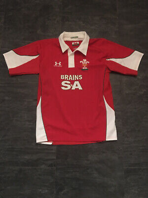 Wales Home Rugby Shirt M • 9.99£