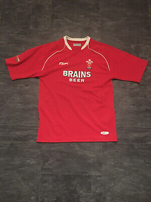 Rare Wales Home Rugby Shirt M • 9.99£