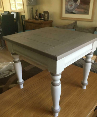 Vintage White Coffe Table Square, Condition: Used • 119.95£