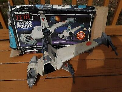 $ CDN93.55 • Buy STAR WARS ROTJ B-WING FIGHTER With BOX VINTAGE KENNER 1984