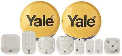 Yale Sync Smart Home Alarm Full Control Kit Includes Smoke Detector 200m Range • 429.49£
