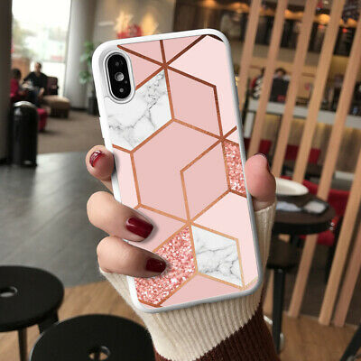 Marble Phone Case Cover For IPhone 12 Pro Samsung S20 Huawei Google Etc  115-1 • 6.90£