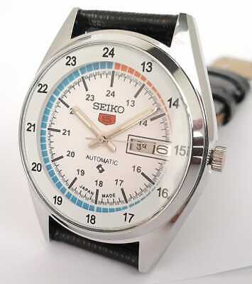 $ CDN43.11 • Buy Vintage Seiko 5 Automatic Movement No 6309 Japan Made Men's Wrist Watch