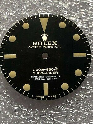 $ CDN434.21 • Buy Dial Glossy Gilt 4 Line For Rolex Submariner 5512 ( Refinished )