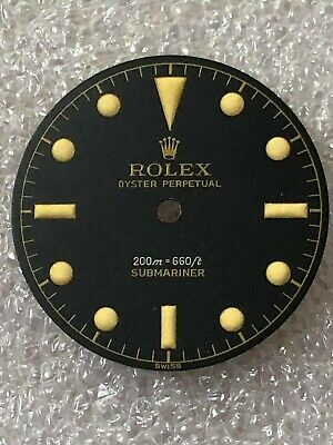 $ CDN250 • Buy Dial Matte For Rolex Submariner Ref 6538- (Refinished)