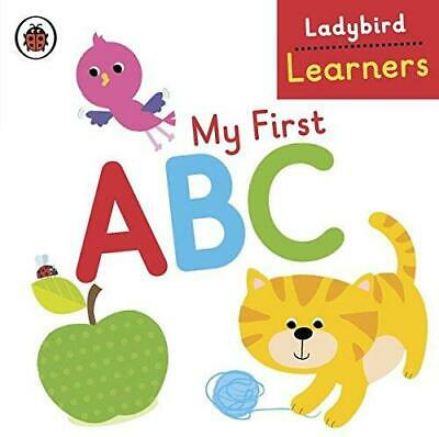 My First ABC: Ladybird Learners, Ladybird, Good Condition Book, ISBN 0723299609 • 3.28£