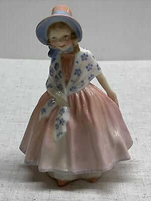 $ CDN59.47 • Buy Great Condition!! Vintage Royal Doulton LADY FIGURE Lily