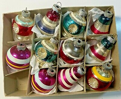 $ CDN26.42 • Buy  11 Shiny Brite Assorted Vintage  Glass Christmas Ornaments