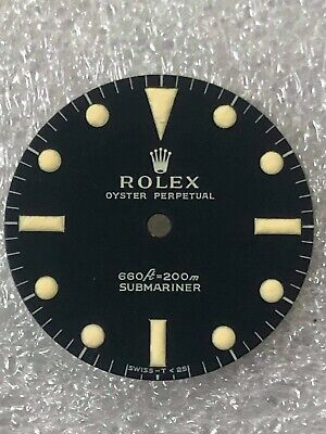 $ CDN289.48 • Buy Dial Matte Blue For Rolex   Submariner 5512-5513 ( 1970s ) Refinished