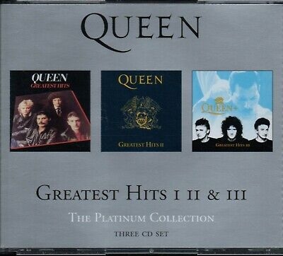 QUEEN - The Platinum Collection (Greatest Hits 1, 2, 3) - 3xCD Album *Best Of* • 9.99£
