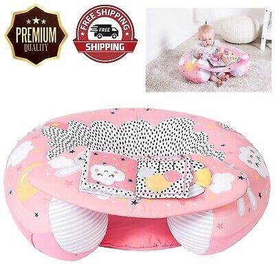 Sit Me Up Inflatable Ring Baby Play Chair Tray Activity Seat NEXT DAY DELIVERY • 21.99£