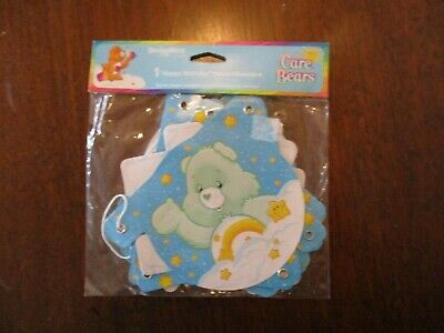 New Care Bears  1- Happy Birthday Banner  5 Ft. Long - Party Supplies • 2.99£