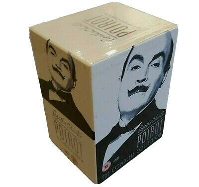 Agatha Christie's Poirot - The Complete Collection (DVD, 24-Disc Box Set, 2008) • 79.99£