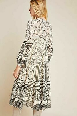 $ CDN46.24 • Buy Anthropologie Cadence Tiered Midi Dress Size Small NWT