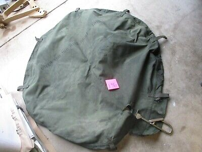 $225 • Buy NOS Canvas Cover, M66 Ring Mount, Dirty, For Ring Mount On Military Vehicle