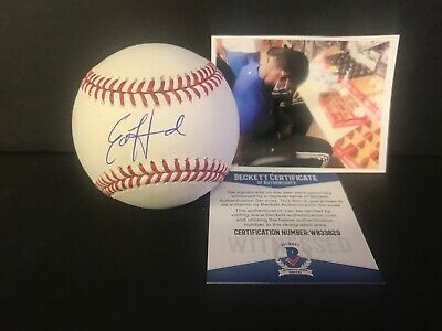 $ CDN52.84 • Buy Ed Howard Chicago Cubs Autographed Signed Baseball Beckett WITNESS
