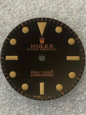 $ CDN394.74 • Buy Dial Glossy Gilt Tropical Brown For Rolex Submariner 5512-1960s ( Refinished )
