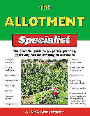 The Allotment Specialist (Specialist Series) By , Paperback Used Book, Good, FRE • 2.49£