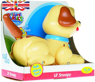 Fisher-Price Lil' Snoopy Pull Along Dog Multicoloured  • 15.98£