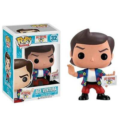 UK Funko Pop Movie ACE VENTURA #32 Action Figure Collectible Toy Kids Gift W/Box • 16.98£