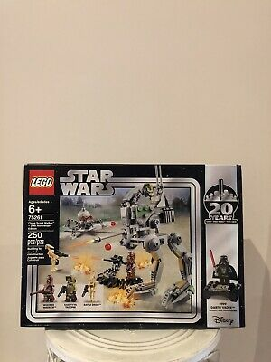 AU169.99 • Buy LEGO Star Wars Clone Scout Walker - 20th Anniversary Edition Set  75261 Damaged