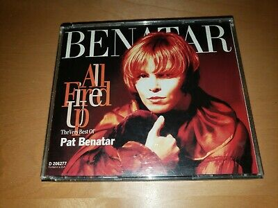 £6.57 • Buy Pat Benatar ALL FIRED UP The Very Best Of 2-CD Set GREAT SHAPE FREE Shipping