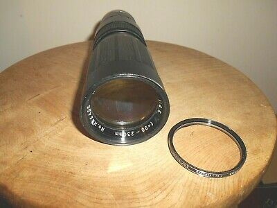 HANIMEX TELE-ZOOM 1:4.5/90-230mm Lens(M42 Screw Mount) • 19.95£
