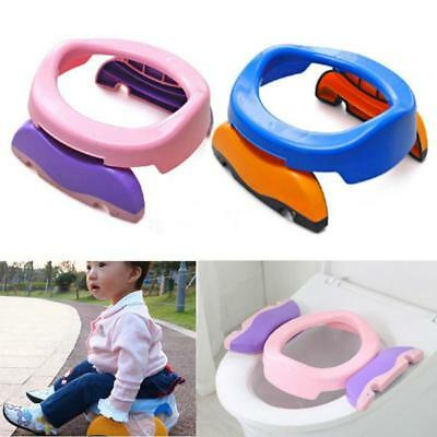 AU13.73 • Buy Accessories Travel Potty Trainer Seat Baby Care Boys Girls Kids Potty Urinal BB