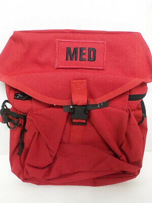 $29.95 • Buy NEW Elite First Aid M-3 Trifold IFAK EMT CLS Medical MOLLE Field Bag MEDIC RED