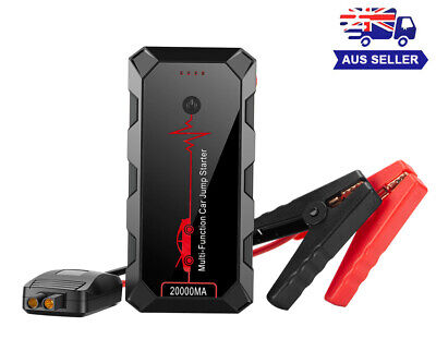 AU85.99 • Buy Car Jump Starter Portable Power Bank Supply Charger Battery Engine Booster 12V