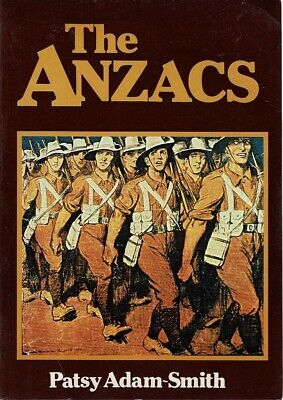 AU28.90 • Buy The Anzacs By Adam-Smith Patsy - Book - Pictorial Soft Cover - Military