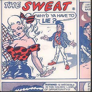 SWEAT Why'd Ya Have To Lie 7 INCH VINYL UK Double D B/W Hey Little Girl Pic • 9.75£