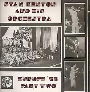 STAN KENTON AND HIS ORCHESTRA Europe '53 Part Two LP VINYL UK First Heard 1983 • 2.84£