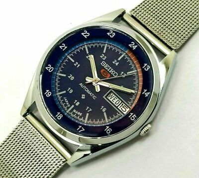 $ CDN32.43 • Buy Vintage Seiko 5 Automatic Japan Made Day&Date Movement No.6309 Men's Wrist Watch