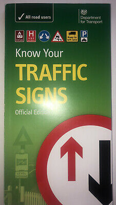 £4.50 • Buy Know Your Traffic Signs By Great Britain: Department For Transport...