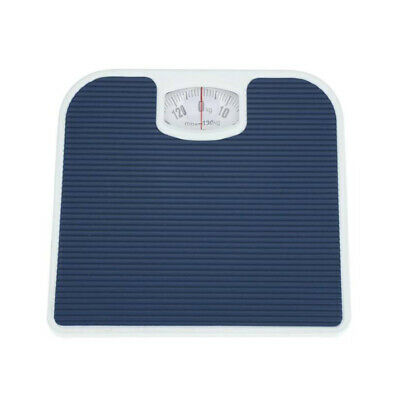 Blue Accurate Bathroom Mechanical Scales Dial Weighing Scale Body Weight 130KG • 12.24£